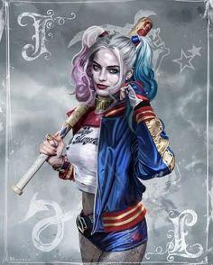 Batman & The Dark Knights of Gotham Harley Quinn Tattoo, Joker Et Harley Quinn, Harley Quinn Drawing, Margot Robbie Harley Quinn, Harley Quinn Cosplay, Batwoman, Nightwing, Harley Quenn, Marvel Dc