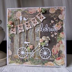 Hello everyone, I was surprised to see it was three weeks ago since I last posted a card on my blog - time just flies! But it is good to be back today and share a card that I created for the curren...