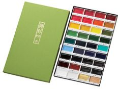 Kuretake : Gansai Tambi Japanese Watercolour : 36 Colour Large Pan Set