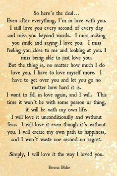moving on quotes after a break up long paragraghs - Google Search