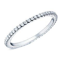 Sylphide : alliance fine or blanc et diamants #bague #alliance #orblanc #diamants #bijoux #luxe #valeriedanenberg