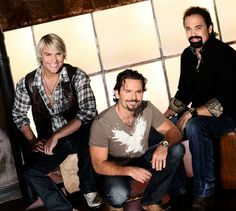 The Texas Tenors appearing on select dates in 2013 at The Starlite Theatre in Branson.
