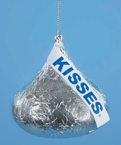 Love this Hershey's Kiss Ornament by Kurt Adler on #zulily! #zulilyfinds Chocolate Tree, Chocolate Pack, Christmas Chocolate, Christmas Room, Christmas Candy, Christmas Tree Ornaments, Christmas Stuff, Merry Christmas, Candy Trees