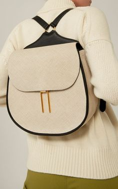 Embossed Leather Vallens Backpack by HAYWARD for Preorder on Moda Operandi. Shared by Where YoUth Rise Backpack Purse, Leather Backpack, Leather Bag, My Bags, Purses And Bags, Sac Week End, Minimalist Bag, Beautiful Bags, Fashion Bags