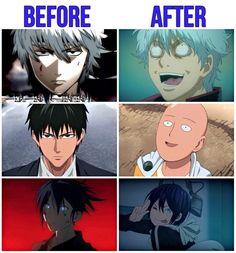 Gintama, One Punch Man, Noragami Anime Meme, Otaku Anime, Manga Anime, Anime Art, Noragami Anime, Fanarts Anime, I Love Anime, All Anime, Cool Animes