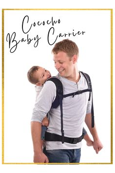Always on the go? The Cococho Baby Carrier makes it easy for you, secure the baby BEFORE putting it on and wear it in the front or back position! The carrier was specifically designed for daily use and long term carrying, so you can still complete your to-do list hassle free🤩 Baby, Baby Humor, Infant, Babies, Babys