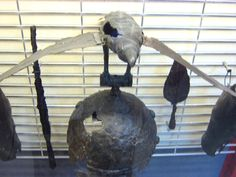 The Celtic Helmet from Satu Mare, Romania (northern Dacia), an Iron Age raven totem helmet, dated around century BC. A similar helmet is depicted on the Thraco-Celtic Gundestrup cauldron, being worn by one of the mounted warriors Romania Travel, Denmark Travel, Austria Travel, In Ancient Times, Ancient Rome, Ancient Greece, Sweden Places To Visit, Raven Totem, Greece Today