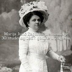 Bila je prva profesionalna novinarka i najčitanija hrvatska književnica. #ZagrebFacts #MarijaJuricZagorka #Zagorka #MJZ #Zagreb #knjizevnost #studeni #november