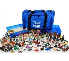 Premium Portable Sand Tray Starter Kit. 160+ miniatures, trays to sort them, duffel to tote them. Sand included! Death, mythical, spiritual, family, we've got it covered