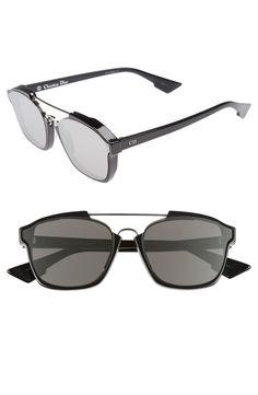 02b8f6fca1ec1 Fendi - Eyeline Shield Mirrored Sunglasses ( 595 CDN). Brian Ortega · Men s  Sunglasses · Dior - Abstract 58mm Brow Bar Sunglasses ( 661 CDN)