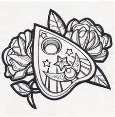 Image result for planchette tattoo