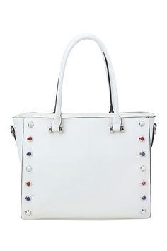 Studded Satchel  by Handbag Republic on @HauteLook