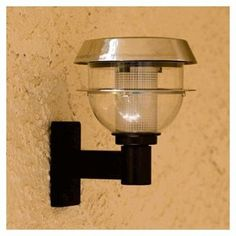Stainless Stell Solar Adjustable Outdoor Wall Light $21.98 (includes shipping