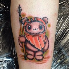 ewok tattoo - Google Search