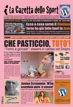 La COPERTINA DELL'08.11.2012