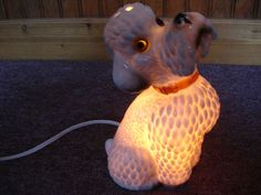 Especially Cute Poodle Dog Night Light