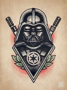 #tattoo #traditional #sevastopol #ageevtattoo #sketch #darthvader #starwars #vader #emperor #illustration