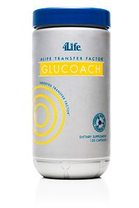 4life transfer factor glucoach targeted on glucose balance.