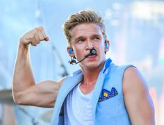 Cody Simpson performs during the 99.5 WZPL Birthday Bash at White River State Park on July 7, 2014 in Indianapolis, Indiana.