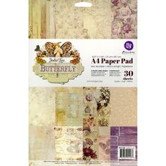 Prima Jodie Lee Butterfly Collection Paper by SeptemberPlayground