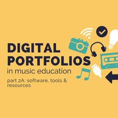 """Welcome to the second part of a 3-part series about digital portfolios in music.  In part 1 I covered the """"what"""" and """"why"""" of digital portfolios and gave an overview of the """"how"""".  We looked at the different types of digital artefacts that"""