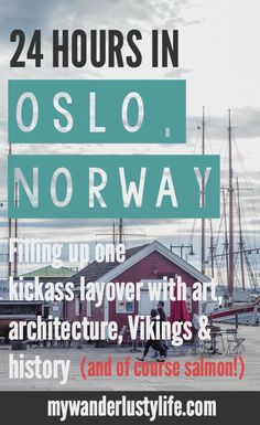 How I spent 24 hours in Oslo, Norway--but did about a week's worth of sightseeing thanks to the Oslo Pass. We visited the National Gallery art museum, took the ferry to the Norwegian Folk Museum and Viking Ship Museum, then to Akershus Castle and Fortress and Vigeland Sculpture Park. Finished it all off with some smoked salmon and a stay at the Citybox Oslo.