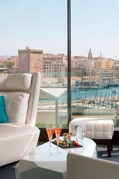 Overlooking Marseille's harbor, the Sofitel is one of the city's hottest properties. #Jetsetter