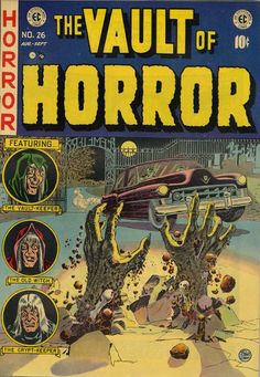 Cover for Vault of Horror (1950 series) #26