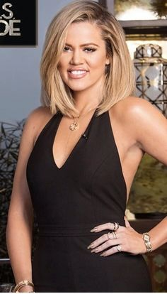 Khloe Kardashian: Necklace – Bulgari and Monica Rose Bracelet – Cartier Jumpsuit – Elizabeth and James