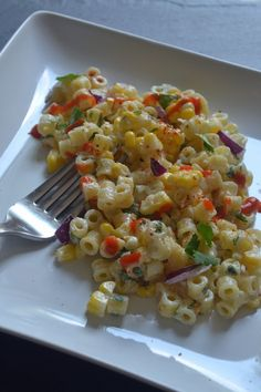 Mexican Street Corn Pasta Salad - Sarcastic Cooking