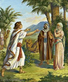 Genesis 24: Isaac and Rebecca