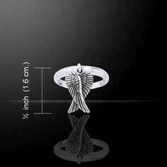 Angel Wings Ring (Sterling Silver)
