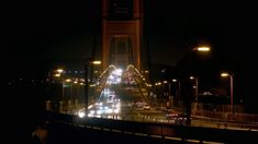 Driving along the at night on bridge at night The Golden Gate Bridge is a suspension bridge spanning the Golden G. Suspension Bridge, Golden Gate Bridge, Empire State Building, San Francisco, Night, Greece, Youtube, Greece Country, Youtubers
