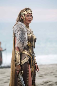 Hippolyta (Connie Nielson) - Wonder Woman (2017)