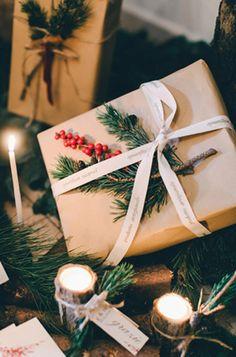 Дух Рождества: зимняя свадьба в ярко-красных тонах