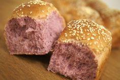 Japanese sweet potato Bread buns