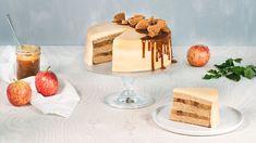 Pozrite sa, ako pripraviť tortu plnú karamelu a jabĺk! Navštívte Lidl Cukráreň na stránke www.kuchynalidla.sk a dozviete sa viac.