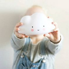 Newest Cartoon Night Light Children Night Lamp Cloud Smile Face Intelligent LED Lamp Creative For Gifts Bedroom Baby  Decoration #Affiliate
