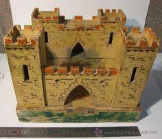 precioso castillo de juguete de madera para sol - Comprar Otras ... Wooden Castle, Toy Castle, Paper Models, Wooden Toys, Castles, Buildings, Projects To Try, Bird, Outdoor Decor