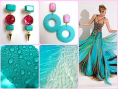 MATILDESIGN, EARRINGS, FASHION JEWELRY, MADE IN ITALY, ORECCHINI, BIJOUX, TURQUOISE