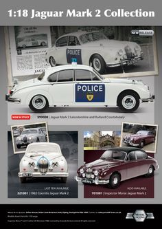 Advert for Die-cast Collector Magazine, to promote specific replica cars in the Model-Icons range.