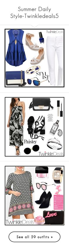 Summer Daily Style-Twinkledeals5 by alina-fashionlover on Polyvore featuring Summer, trend, Ippolita, OPI, DKNY, Gucci, Miu Miu, Etro, vintage and STELLA McCARTNEY
