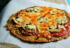 Pizza de quinoa com tomate e cogumelos | SAPO Lifestyle