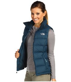 I am rarely in a situation where wearing one of these down vests would be appropriate, but there is something so outdoorsy about them I can't help but wish I was skiing.