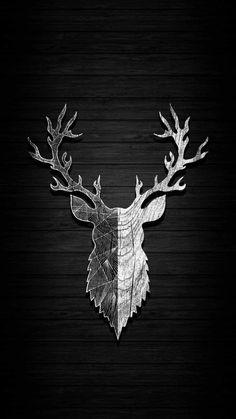Deer Art IPhone Wallpaper - IPhone Wallpapers