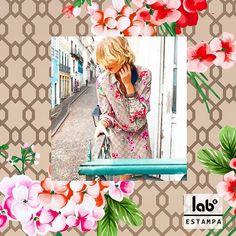 LabK estampa: @lindademorrer Estampa exclusiva para nossa cliente Linda de Morrer --> amamos demais o look e a foto! #kalimo #labkestampa #lindademorrer #labksp #studiolabK #printlovers