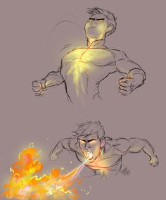 """Dat giant fire boi of my heart~~I had a dream a while back where Tadashi blew fire and I was like """"i'm ok with this. Fantasy Character Design, Character Drawing, Character Design Inspiration, Character Design Animation, Character Concept, Drawing Base, Figure Drawing, Drawing Sketches, Cool Drawings"""