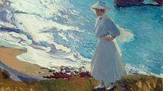 «María en la playa de Biarritz» (1906), de Joaquín Sorollaj