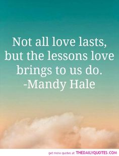Not All Love Lasts