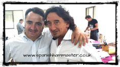 In my trip to Spain I was lucky to meet Florencio Sanchidrian, art and spectacle in the same person! Was a pleasure listening his Master Classes! Thank you very much for all your advice! See you soon! Jamón Iberico de Bellota, Cebo y Jamón Serrano. www.spanishhammaster.co.uk